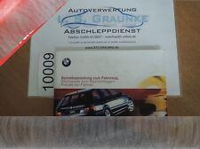 Betriebsanleitung Handbuch BMW E46 1999 3er 318i 320i 328i 320d 01400155028 DE