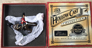 40199 Britains Toy Soldiers Hollowcast 2nd Dragoon Officer Mounted 2001