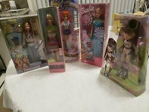 COLLECTION OF NEW IN BOX VINTAGE BARBIES (5)