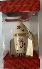 Lenox Ornament Rocket Hinged Box Commemorate Time Capsule 2000