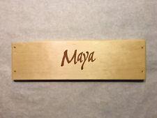 1 Rare Wine Wood Panel Maya Napa Valley Vintage CRATE BOX SIDE 8/20 378a