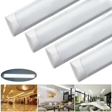 10x 1200mm 4ft LED Batten Tube Light Industrial Office Ceiling Wall Panel Lamp