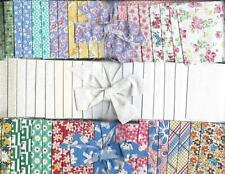 TRIO of 1930s  JELLY ROLLS ~ Nice collection of fabric for QUILT BLOCKS or TOPS