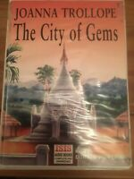 THE CITY OF GEMS AUDIO BOOK CASSETTE TAPES BOX SET JOANNA TROLLOPE