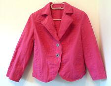 DKNY Jeans fuchsia jacket  with textured fabric - Size S