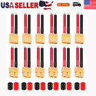 12pcs 12AWG XT60 Plug Male Female Connector Wire for RC Lipo Battery FPV Drone