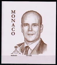 TIMBRE MONACO Année 2006 Vignette ' PRINCE ALBERT DE MONACO ' NEUF** SUPERBE