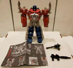 Transformers Titans Return Power Master Optimus Prime