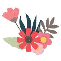 Tim Holtz Mixed Media  #1 660220 #2 #3 #4 #5 #6 Die 662689 Floral Background