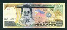 PHILIPPINES - 2012 500 Pesos Circulated Banknote