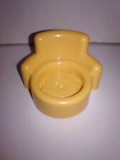 Fisher Price Little People Yellow Chair with Cushion Hanukkah House Furniture