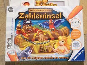 """Ravensburger Tiptoi: """"Das Geheimnis der Zahleninsel"""" Gesellschaftsspiel Mathe"""