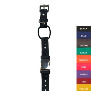 """E-Collar 3/4"""" Quick Snap Mini Bungee Replacement Strap - 9 Colors"""
