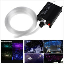 300Pcs Romantic DIY Car Led Ceiling Light Fiber Optic Star 16W RGBW Light Source
