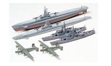 Tamiya 31903 1/700 Scale Model Kit US Submarine Gato Class&Japanese Chaser No.13