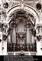 Größte Kirchenorgel der Welt im Dom zu Passau ,ungelaufene AK