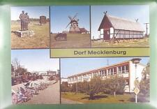 CPA Germany Mecklenburg Windmill Moulin a Vent Windmühle Wiatrak Folklore w10