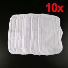 10x Replacement Microfiber Pads For Shark Steam Mop S3250 S3101 XT3010 SE200