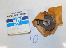 Nos Wisconsin V465D Oil Pump Gear Cd94C
