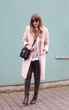 NWT 3.1 Phillip Lim AW17 Pink Wool chester coat jacket US12/UK14/EU44 £1495