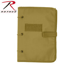 Rothco Hook and Loop Morale Patch Keeper Book - COYOTE TAN
