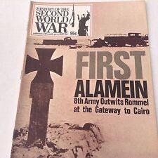 Second World War Magazine First Alamen 8th Army Part 36 1973 071217nonrh