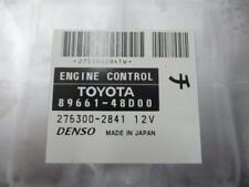 TOYOTA KLUGER ECU ENGINE ECU, 3.5, 2GR, GSU40-GSU45, 89661-48D00, ECU ONLY, 08/0
