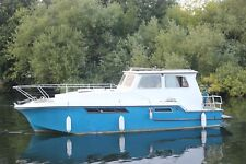 36 x 12 liveaboard widebeam house boat near London