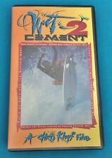 Wet Cement 2 , A Chris Klopf Film - Surfing Vhs Tape ,Machado Beschen Knox &More