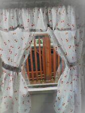 New CHERRY den, playhouse,  Wendy / summer house, curtains