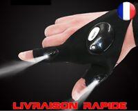 Éclairage gant Nuit réparation voiture led lampe Outils Gauche Droite Lumière