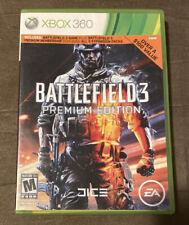 Battlefield 3 Premium Edition Microsoft Xbox 360 ~ Complete! ~ Fast Shipping!