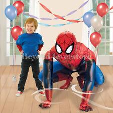 "Marvel The Amazing Spider-man Fun Life-Size Jumbo Air Walker 48"" Foil Balloon"