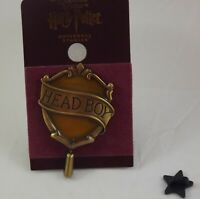Wizarding World of Harry Potter Hufflepuff Head Boy Pin New on Card