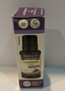 Nature's Truth Lavender Pure Essential Oil Rejuvenating Aromatherapy .51oz