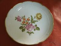 Piatto Ceramica RICHARD GINORI MANIFATTURA DI DOCCIA Florence Italy d 19cm Fiori
