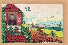 Carte Photo vintage card RPPC enfant garçon souvenir d'école pz0332