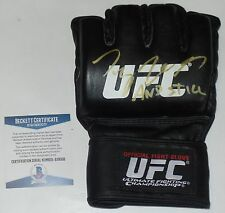 TYRON WOODLEY SIGNED AUTO'D UFC OFFICIAL GLOVE BAS BECKETT COA  205 VS WONDERBOY