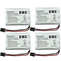 4x Home Cordless Phone Battery for Uniden BT-446 BT446 ER-P512 BT-1005 BT1005
