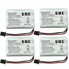4x Home Cordless Phone Battery for Uniden BT-446 BT446 ER-P512 BT-1005 BT1005