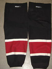 PHOENIX COYOTES size XL black 3rd-style RBK socks (2008-2014) now defunct style