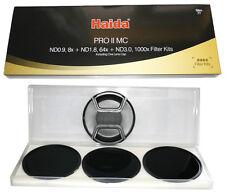 Haida Pro II (PROII) SLIM 52mm Densità Neutrale (3, 10 6 & STOP) confezione Filtro Wide
