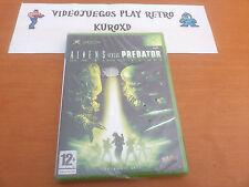 Pal version Microsoft Xbox aliens versus Predator Extinction