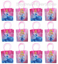 Disney Princess Cinderella Birthday Party Favors Goodie Bag 12pc Gift Set Bags