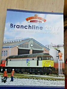 Bachmann  Branchline 2017 model railway catalog for 00 scale railways, v g c