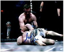 JACOB VOLKMANN Signed Autographed UFC MMA 8X10 PIC. B