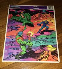 MASTERS OF THE UNIVERSE He Man & Skeletor 1984 Frame -Tray 11 x 14 puzzle