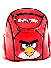 "Rovio Angry Birds Look At You Boys & Girls 10"" Canvas School Backpack"