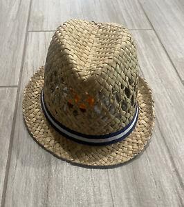 Gymboree Straw Fedora Hat