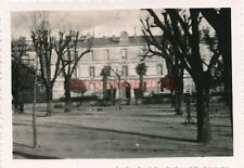 4x Foto, Front Stalag 183 in Angouleme, Lyzeum, Quartier Frankreich 1940 (W)1470